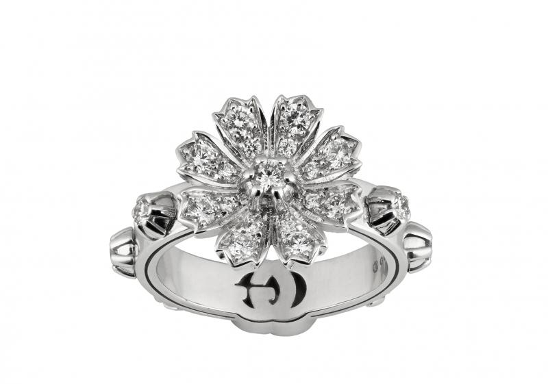 GUCCI以大自然为灵感推出GUCCI Flora精致珠宝系列