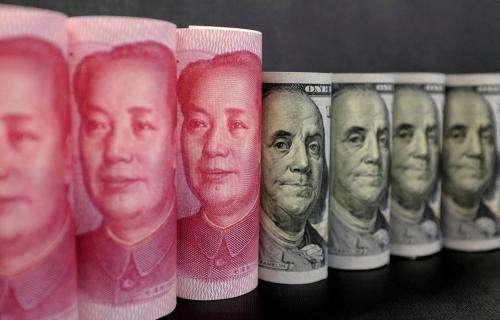 全球央行年会开启 人民币汇率下调82点