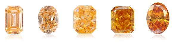橙色钻石值钱吗
