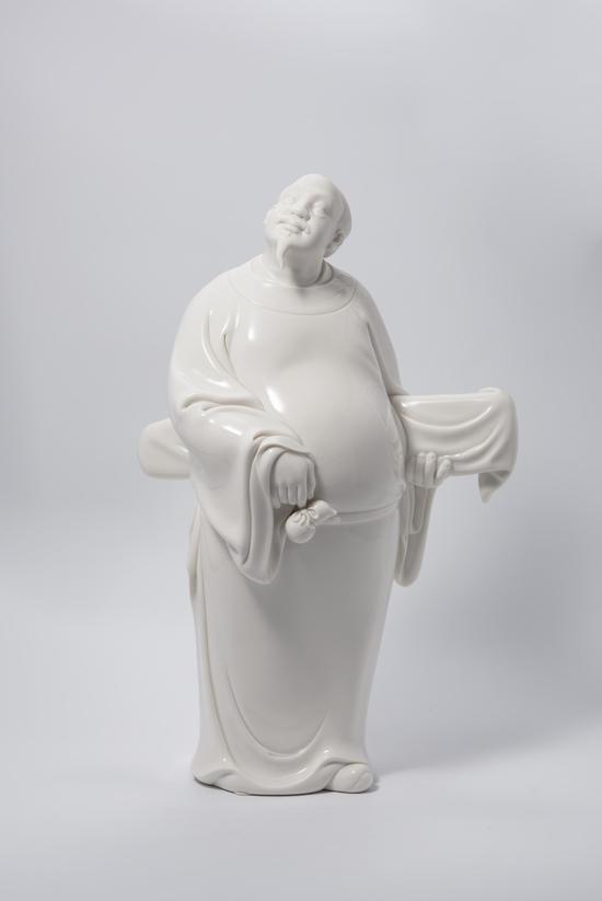 """匠心独运的德化窑""""中国白""""陶瓷艺术作品 礼献新中国70周年华诞"""
