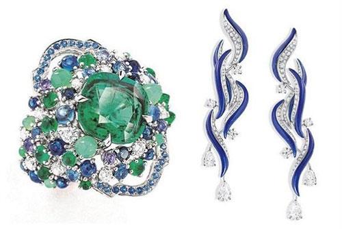 法国珠宝品牌Mellerio全新高级珠宝系列:Isola dei Pescatori