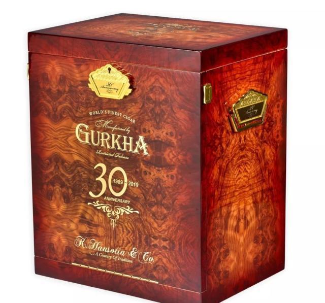 廓尔喀推出30周年纪念雪茄  来让我们来了解它的历史