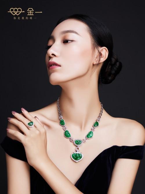 金一文化珠宝大片来袭 百变风格又不失魅力