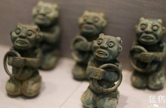 新中国河南考古七十年展的上千件文物浓缩了新中国考古70年来的精华