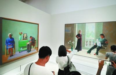 英国艺术家大卫·霍克尼对话《康熙南巡图》