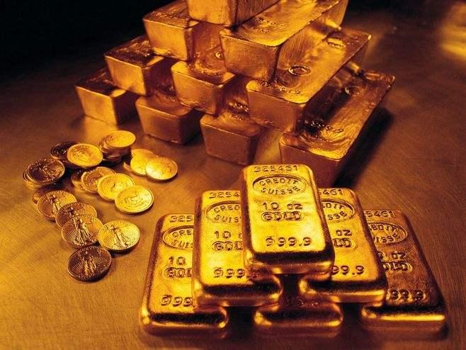 黄金温和上涨 跌破这一水平后可考虑做空金价?