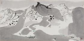 吴冠中的代表画作《春雪》鉴赏