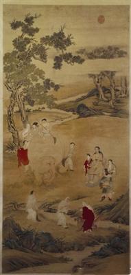 《乾隆皇帝洗象图》中的节令民俗——伏日洗像