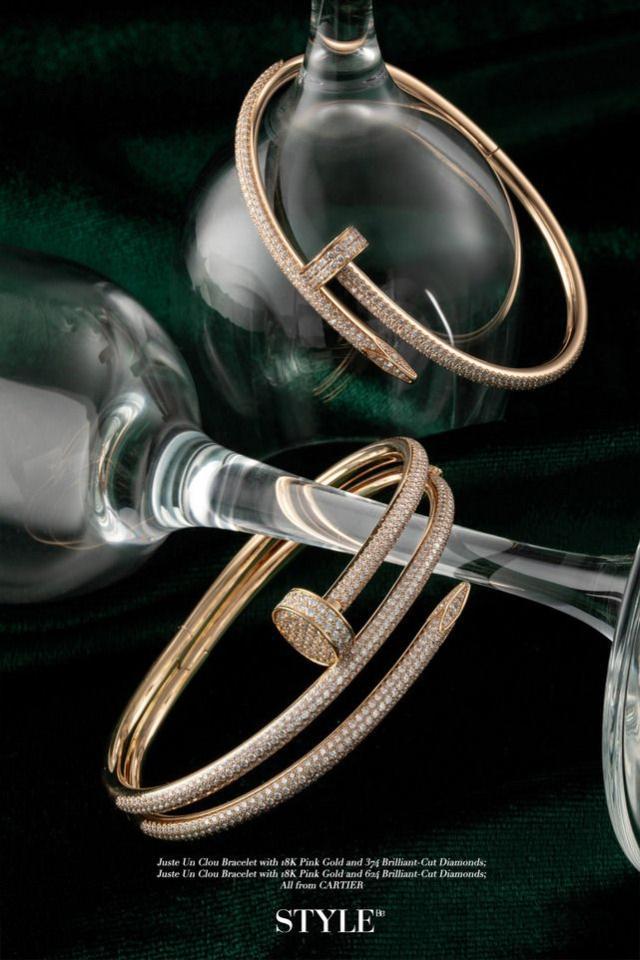 这些独特的玫瑰金珠宝首饰 散发出独特的贵族气质