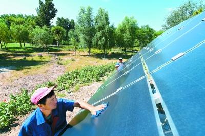 太阳能助力海绵城市