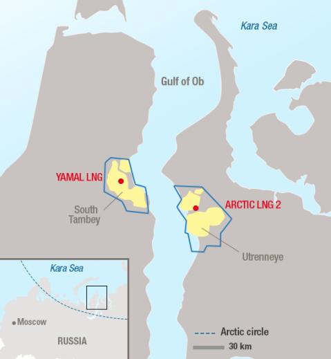 北极圈世界级液化天然气项目启动