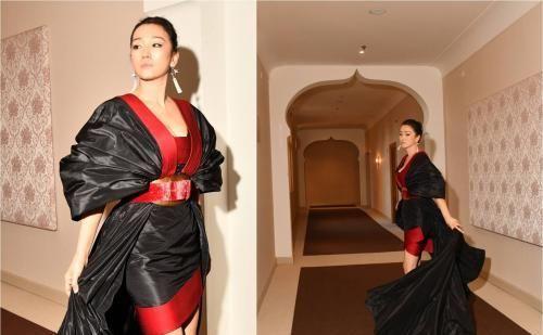 Boucheron宝诗龙珠宝相伴巩俐出席第76届威尼斯国际电影节