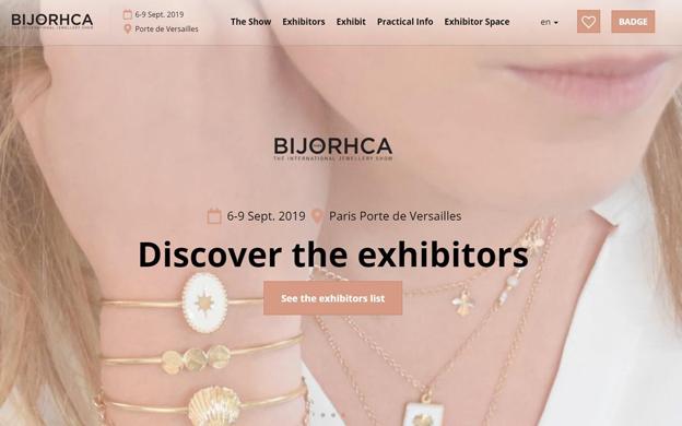 法国珠宝贸易展Bijorhca隆重开幕