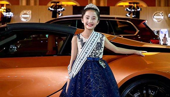 首届海南省少儿车模大赛在海南国际会展完美落幕