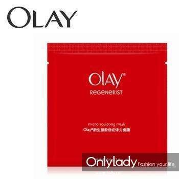 Olay新生塑颜修纹弹力面膜 最大功效是皮肤光滑紧致