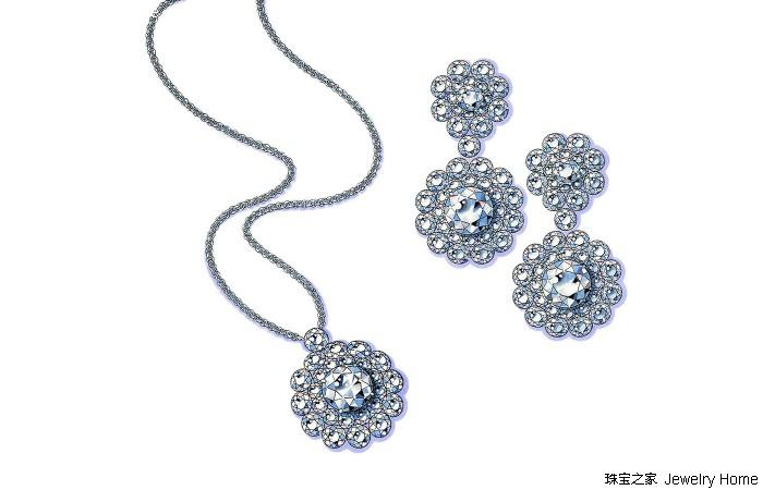 重新演绎经典珠宝设计 萧邦推出全新高级珠宝系列Magical Setting