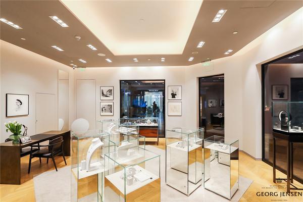 丹麦皇室御用银艺品牌GEORG JENSEN入驻北京国贸