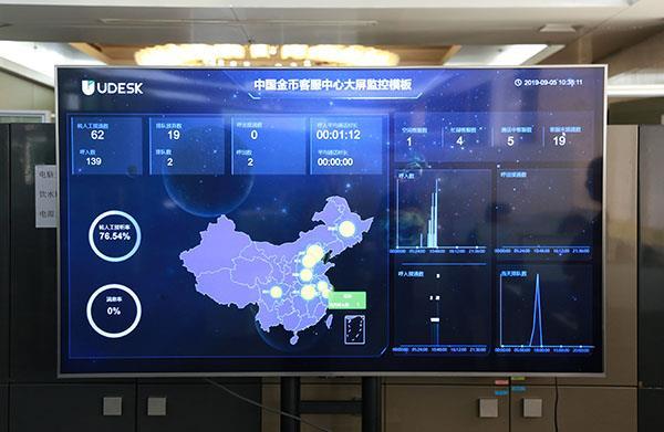 中国金币客服中心全渠道智能客服系统上线