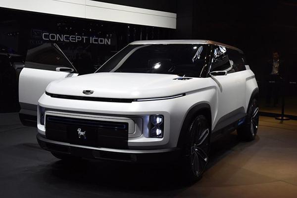 吉利汽车旗下的全新SUV SX12正式定名为icon 外观方面传统熟悉的风格不太一样