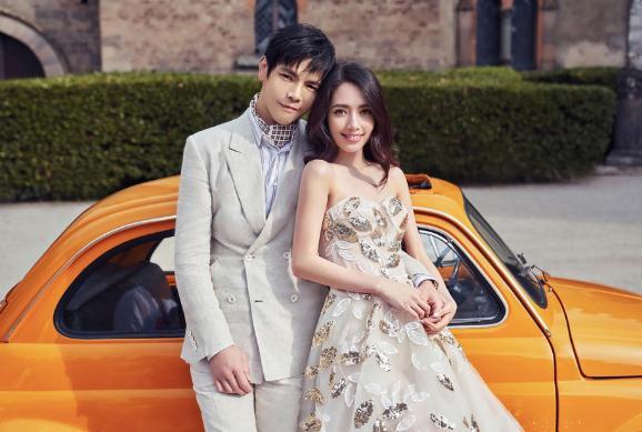 向太否认向佐结婚 原来美美的婚纱照只是广告大片
