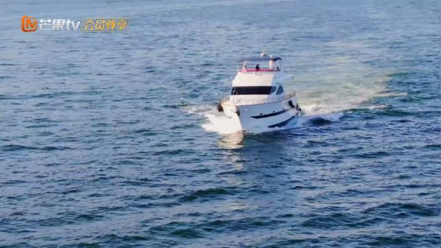 向佐的游艇公开 带郭碧婷出海欣赏风景