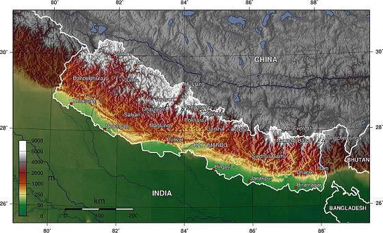 尼泊尔的红蓝宝石矿在这里 你知道吗?