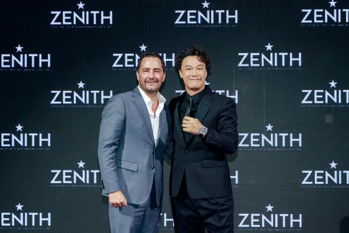 真力时携手全球品牌代言人陈奕迅发布全新DEFY INVENTOR腕表