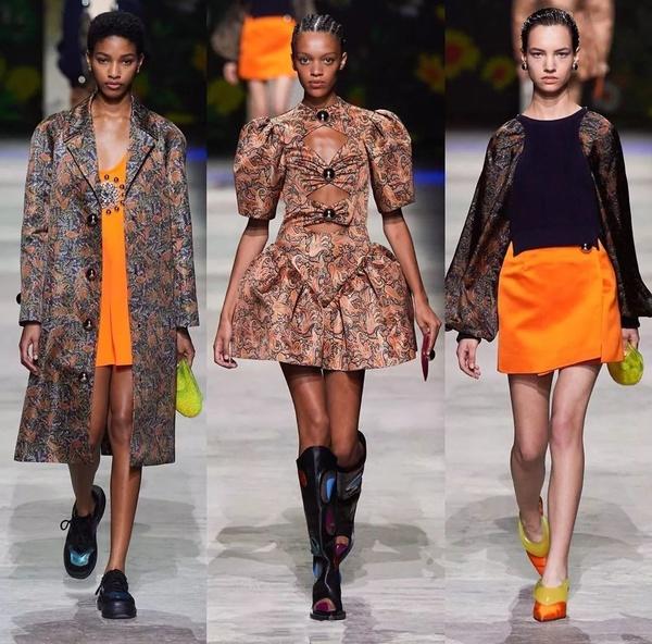 伦敦时装周大胆创新 秀场和模特上更是花样百出
