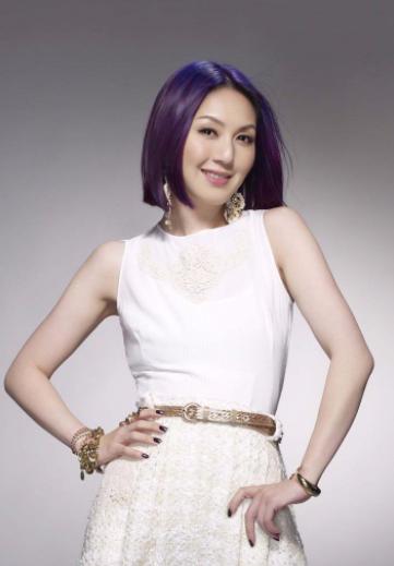 杨千嬅为什么一直紫发?