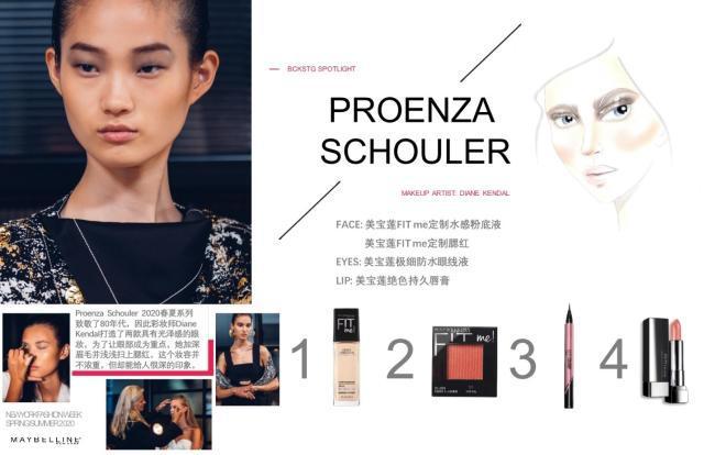 """彩妆品牌""""美宝莲纽约""""庆祝了品牌成为纽约时装周官方赞助商的十周年"""