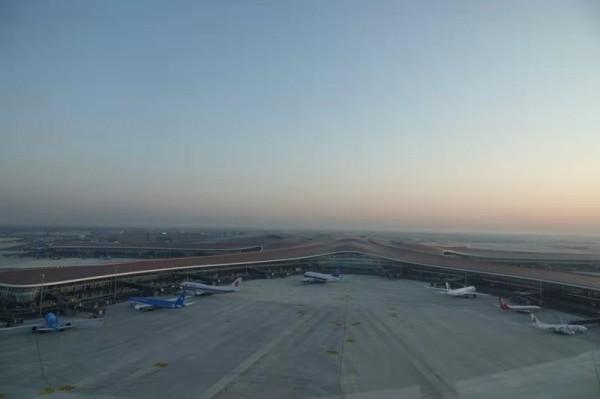 北京大兴国际机场投运仪式25日上午举行 预计有7架飞机从这里率先腾空而起