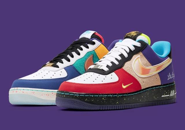 两双花里胡哨的Nike AF1和低配版OW联名即将发售