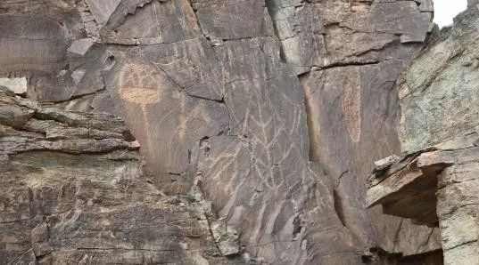 阿拉善盟境内的多处文物遗址有重大发现