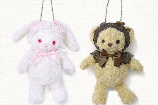"""人手一只的""""兔熊包包"""" 你有了吗?"""