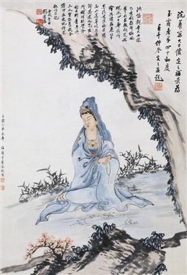 梅兰芳的佛教绘画 让人感悟佛教义理及其禅意
