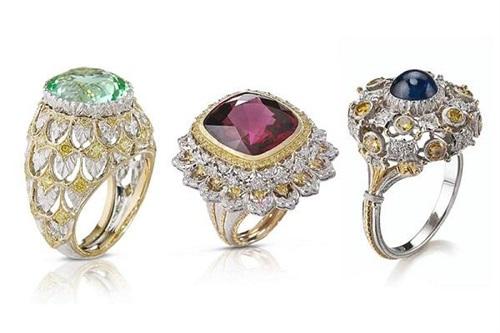 布契拉提推出Cocktail Rings新品珠宝
