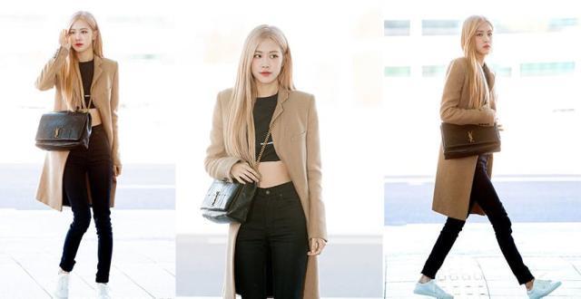 拿出小本本啦!韩国女星机场街拍教你穿搭来了