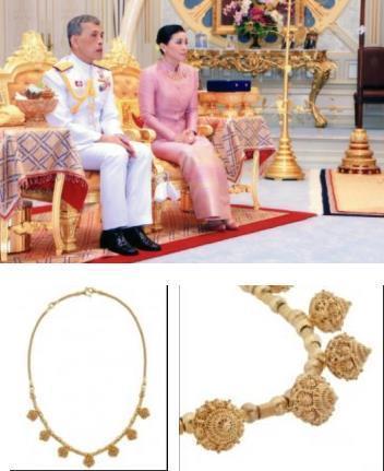 苏提达这是抢了王太后的宝库吗?珠宝佩戴越来越奢华了