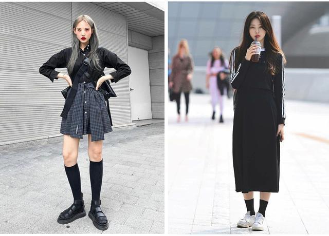 韩国街拍超养眼 这样的时髦穿搭谁不爱