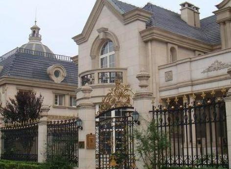 那英豪宅价值过亿 户外都是草坪环绕 独栋楼房真霸气