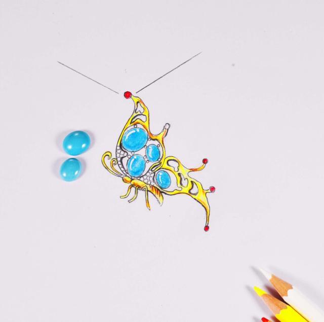刚踏进珠宝设计行业的设计师是怎样进行首饰设计的?