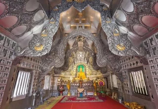 泰国有一座庙 由银子打造 女性严禁入内