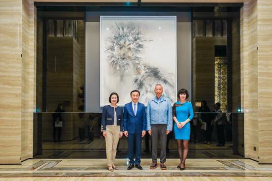 纪录片《天梯:蔡国强的艺术》澳门特别首映仪式启动