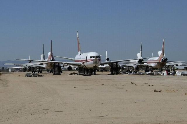 """我国拥有全球第二大""""飞机坟场""""后来还建成了航空展览馆 供国人参观"""