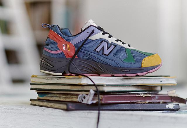 近日size也曝光了此次最新联名合作 将联手New Balance 878打造一款全新配色