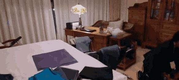 张凯丽住的豪宅 中式装修 家具应该很昂贵吧