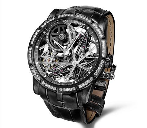 从精湛机械到卓绝艺术 罗杰杜彼Excalibur Blacklight腕表持续创新