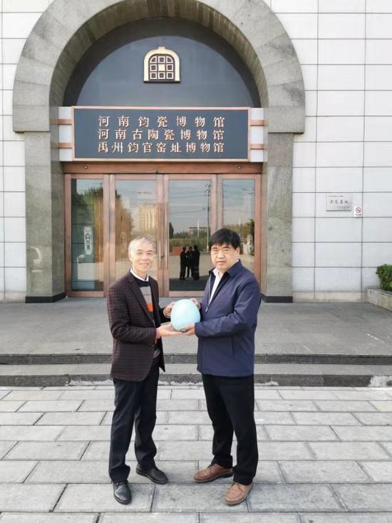"""三大博物馆宣布永久收藏苗锡锦、苗长强""""宋釉今烧""""作品"""