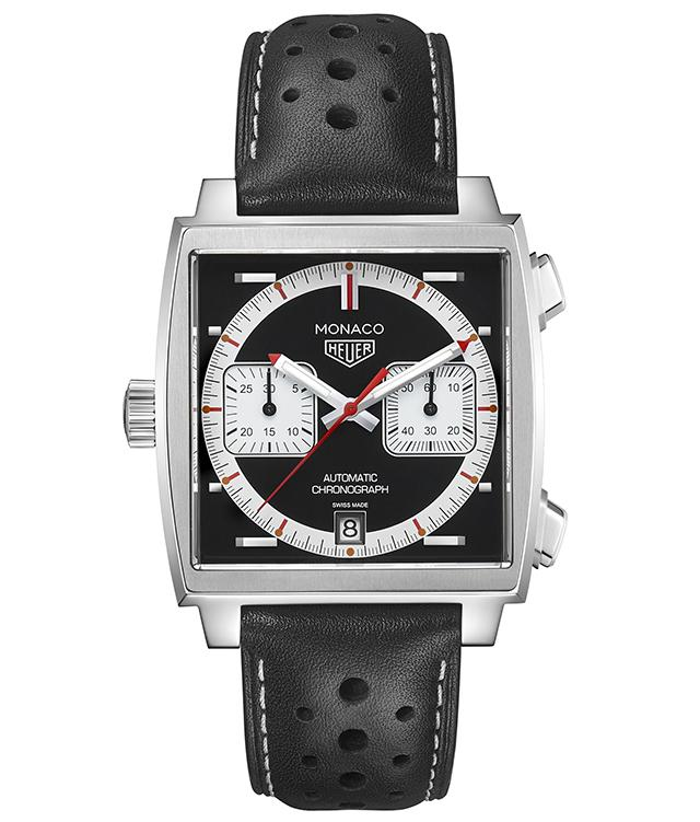 为了纪念摩纳哥系列腕表诞生50周年 泰格豪雅将会推出五款限量版