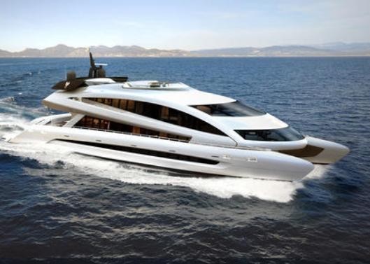 拥有跑车外形的游艇 一年限量才七台